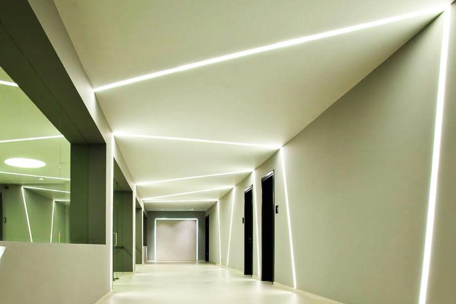 Обслуживание систем освещения