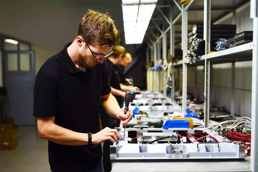 Производство светодиодного оборудования